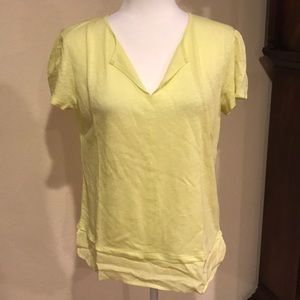 Sanctuary size small bnwt yellow top